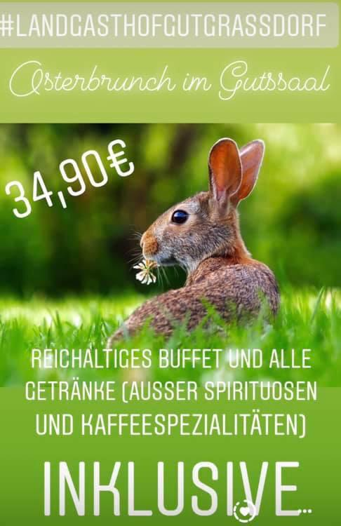 Osterbrunch am Ostersonntag